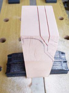 マニアモデルファイル 愛車 旧規格 HA21S/HB11S スズキ アルトワークス の自作 ミニカー 模型作り-不要箇所の切断-05