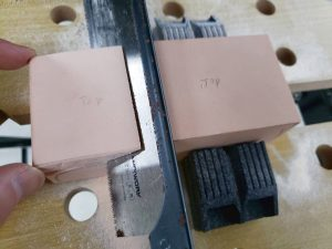 マニアモデルファイル 愛車 旧規格 HA21S/HB11S スズキ アルトワークス の自作 ミニカー 模型作り-不要箇所の切断-13