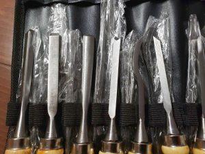 マニアモデルファイル 愛車 旧規格 HA21S/HB11S スズキ アルトワークス の自作 ミニカー 模型作り-カービングナイフ-03
