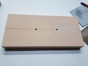 マニアモデルファイル 愛車 旧規格 HA21S/HB11S スズキ アルトワークス の自作 ミニカー 模型作り-台座作り-05