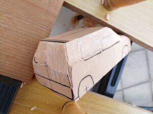 リヤ上部と右側面上部の深彫り -01