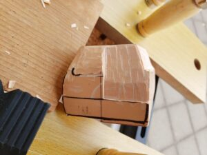 リヤ上部と右側面上部の深彫り -07