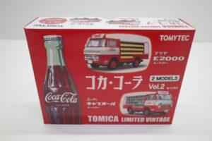 トミカ リミテッド ヴィンテージ コカ・ コーラ 2MODELS Vol.2 TOMYTEC ルートトラック マニアモデル ミニカー 買取事例 (1)