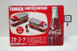 トミカ リミテッド ヴィンテージ コカ・ コーラ 2MODELS Vol.2 TOMYTEC ルートトラック マニアモデル ミニカー 買取事例 (11)