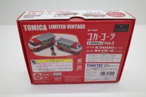 トミカ リミテッド ヴィンテージ コカ・ コーラ 2MODELS Vol.2 TOMYTEC ルートトラック マニアモデル ミニカー 買取事例 (2)