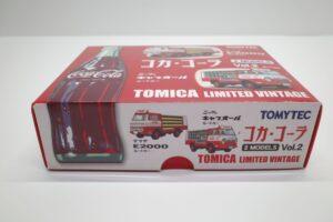 トミカ リミテッド ヴィンテージ コカ・ コーラ 2MODELS Vol.2 TOMYTEC ルートトラック マニアモデル ミニカー 買取事例 (4)