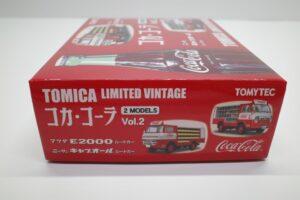 トミカ リミテッド ヴィンテージ コカ・ コーラ 2MODELS Vol.2 TOMYTEC ルートトラック マニアモデル ミニカー 買取事例 (7)