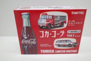 トミカ リミテッド ヴィンテージ TLV コカ・ コーラ 2MODELS Vol.1 TOMYTEC ルートトラック-マニアモデル ミニカー 買取事例- (1)