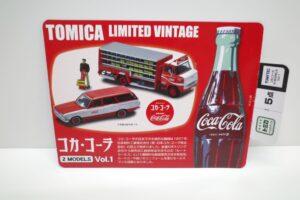 トミカ リミテッド ヴィンテージ TLV コカ・ コーラ 2MODELS Vol.1 TOMYTEC ルートトラック-マニアモデル ミニカー 買取事例- (10)