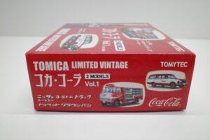 トミカ リミテッド ヴィンテージ TLV コカ・ コーラ 2MODELS Vol.1 TOMYTEC ルートトラック-マニアモデル ミニカー 買取事例- (3)