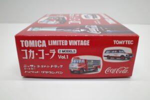 トミカ リミテッド ヴィンテージ TLV コカ・ コーラ 2MODELS Vol.1 TOMYTEC ルートトラック-マニアモデル ミニカー 買取事例- (4)