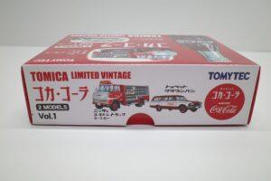 トミカ リミテッド ヴィンテージ TLV コカ・ コーラ 2MODELS Vol.1 TOMYTEC ルートトラック-マニアモデル ミニカー 買取事例- (5)