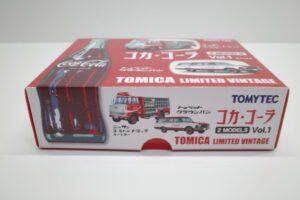 トミカ リミテッド ヴィンテージ TLV コカ・ コーラ 2MODELS Vol.1 TOMYTEC ルートトラック-マニアモデル ミニカー 買取事例- (6)