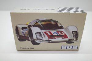 BUB 1-87 XXs PORSCHE ポルシェ Carrera 6 12h Sebring 1967 #42 1000台限定生産-02