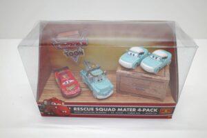 P7252 マテル CARS カーズ レスキュー メーター Rescue SQUAD Mater 4-pacK パック-03_rt