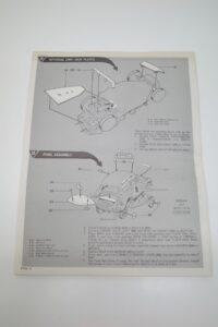 レベル 1-25 Revell 説明書 VW フォルクスワーゲン The BUG バグ ラリー レースカー Rally RaceCar Volkswagen H-1264 -08 (5)
