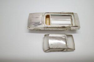 ジャンク ニッサン スカイライン ハードトップ 2000GTX シガレットケース シガーケース 当時物-07