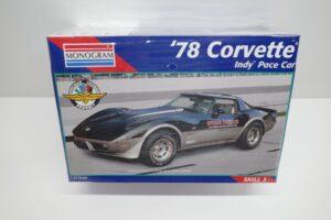 プラモデル レベル モノグラム 1-24 Revell Monogram 1978 シボレー コルベット インディ ペースカー Corvette Indy Pace Car ' (8)