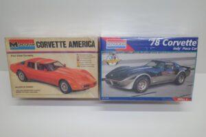 プラモデル レベル モノグラム 1-24 Revell Monogram 2269 シボレー コルベット アメリカ+78 ペースカー他