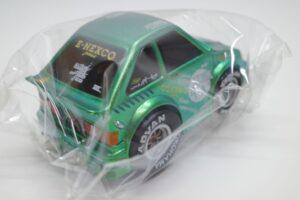 ミニカー チョロQ風 プルバック カー NEXCO東日本限定 高速人 カード Maziora AE86 ハチロク LEVIN レビン-車体 (4)