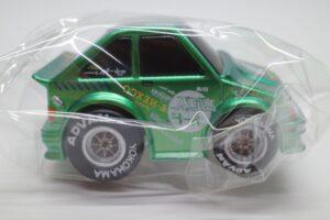 ミニカー チョロQ風 プルバック カー NEXCO東日本限定 高速人 カード Maziora AE86 ハチロク LEVIN レビン-車体 (6)