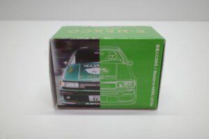 ミニカー チョロQ風 プルバック カー NEXCO東日本限定 高速人 カード Maziora AE86 ハチロク LEVIN レビン-02