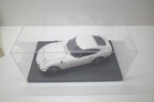 デアゴスティーニ トヨタ 2000GT 1-10 組立済み 完成品 全65号 セットの特注ケースと模型 (6)