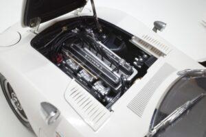 デアゴスティーニ トヨタ 2000GT 1-10 組立済み 完成品 全65号 セット の模型の拡大撮影 (17)
