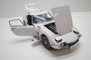 デアゴスティーニ トヨタ 2000GT 1-10 組立済み 完成品 全65号 セット の模型の拡大撮影 (28)