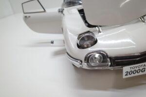 デアゴスティーニ トヨタ 2000GT 1-10 組立済み 完成品 全65号 セット の模型の拡大撮影 (29)