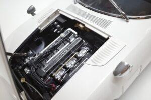 デアゴスティーニ トヨタ 2000GT 1-10 組立済み 完成品 全65号 セット の模型の拡大撮影 (42)