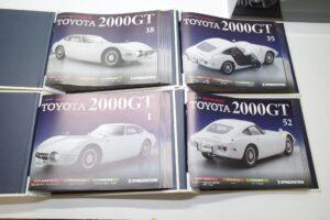 デアゴスティーニ トヨタ 2000GT 1-10 組立済み 完成品 全65号 セット 冊子など (5)