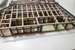 デアゴスティーニ 1-90 安土城をつくる 創刊号~110号完結セット+組立途中パーツ類 (4)