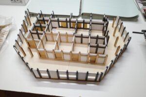 デアゴスティーニ 1-90 安土城をつくる 創刊号~110号完結セット+組立途中パーツ類 (5)