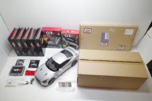 買取事例- イーグルモス GT-R 、冊子、ケース、完成品 セットの全体像 (1)