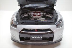買取事例- イーグルモス GT-R 、冊子、ケース、模型 完成品セットのエンジンルーム開閉と外観 (1)