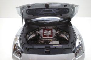 買取事例- イーグルモス GT-R 、冊子、ケース、模型 完成品セットのエンジンルーム開閉と外観 (2)