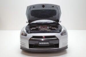 買取事例- イーグルモス GT-R 、冊子、ケース、模型 完成品セットのエンジンルーム開閉と外観 (4)