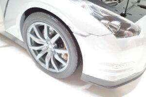 買取事例- イーグルモス GT-R 、冊子、ケース、模型 完成品セットのエンジンルーム開閉と外観 (6)