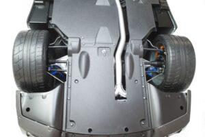 買取事例- イーグルモス GT-R 、冊子、ケース、模型 完成品セットのシャーシ裏面 (5)
