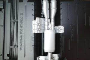 買取事例- イーグルモス GT-R 、冊子、ケース、模型 完成品セットのシャーシ裏面 (7)