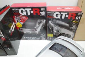買取事例- イーグルモス GT-R 、冊子、ケース、模型 完成品セットの付属品など (1)