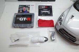 買取事例- イーグルモス GT-R 、冊子、ケース、模型 完成品セットの付属品など (6)
