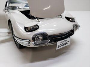 デアゴスティーニ トヨタ 2000GT 1-10 組立済み 完成品 全65号 セット の模型のヘッドライト-01