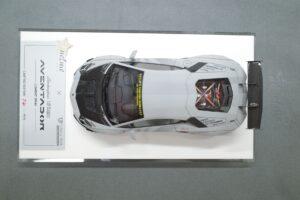FuelMe 1-43 LB LibartyWalk ランボルギーニ アヴェンタドール コンバットグレイ のミニカー拡大撮影風景 (3)