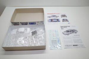 アオシマ 1-24 BEEMAX カローラ レビン AE92 88 Gr.A 仕様 ミノルタ MINOLTAのパーツ (1)