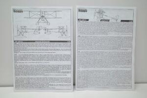 スペシャルホビー 1-48 Sopwish Schneider+ Loyd C.V SH 48012 48013 SpecialHobbyの説明書 (1)