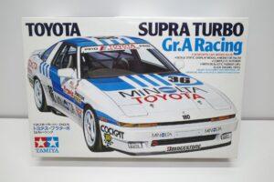 タミヤ 1-24 トヨタ スープラ ターボ ミノルタ グループAレーシング MINIOLTA Gr.A Group Aの外箱 (1)