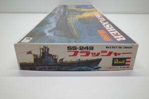 プラモデル 船-Revell 1-180 レベル 米国潜水艦 USS 249 フラッシャーの外箱 (5)