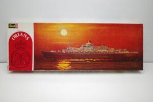 プラモデル 船 Revell 1-495 レベル 豪華客船 オリアナ S.S. ORIANA の外箱(1)